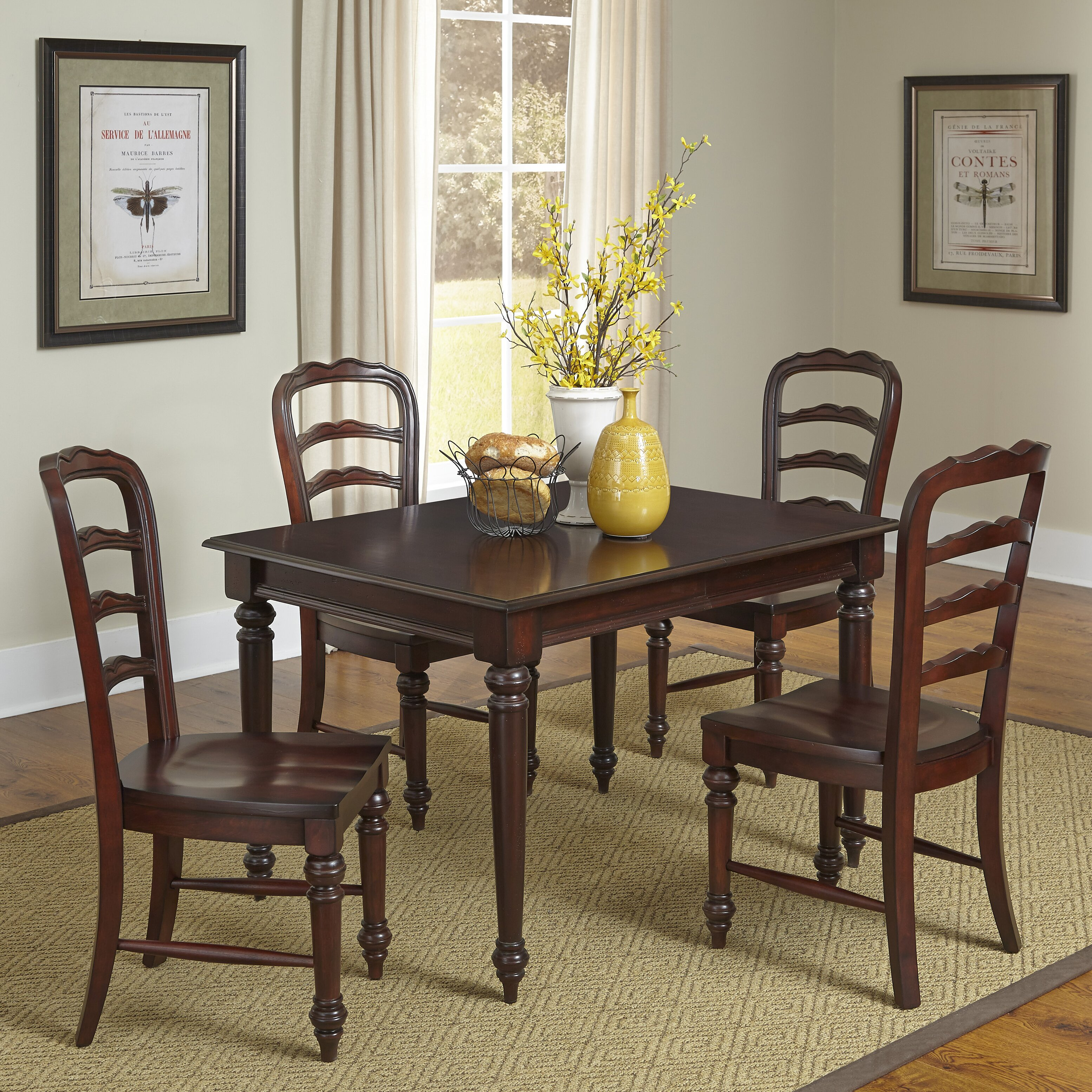 French Style Dining Room Furniture Antique Design French Dining Table With Blue Leather Chair Luxury
