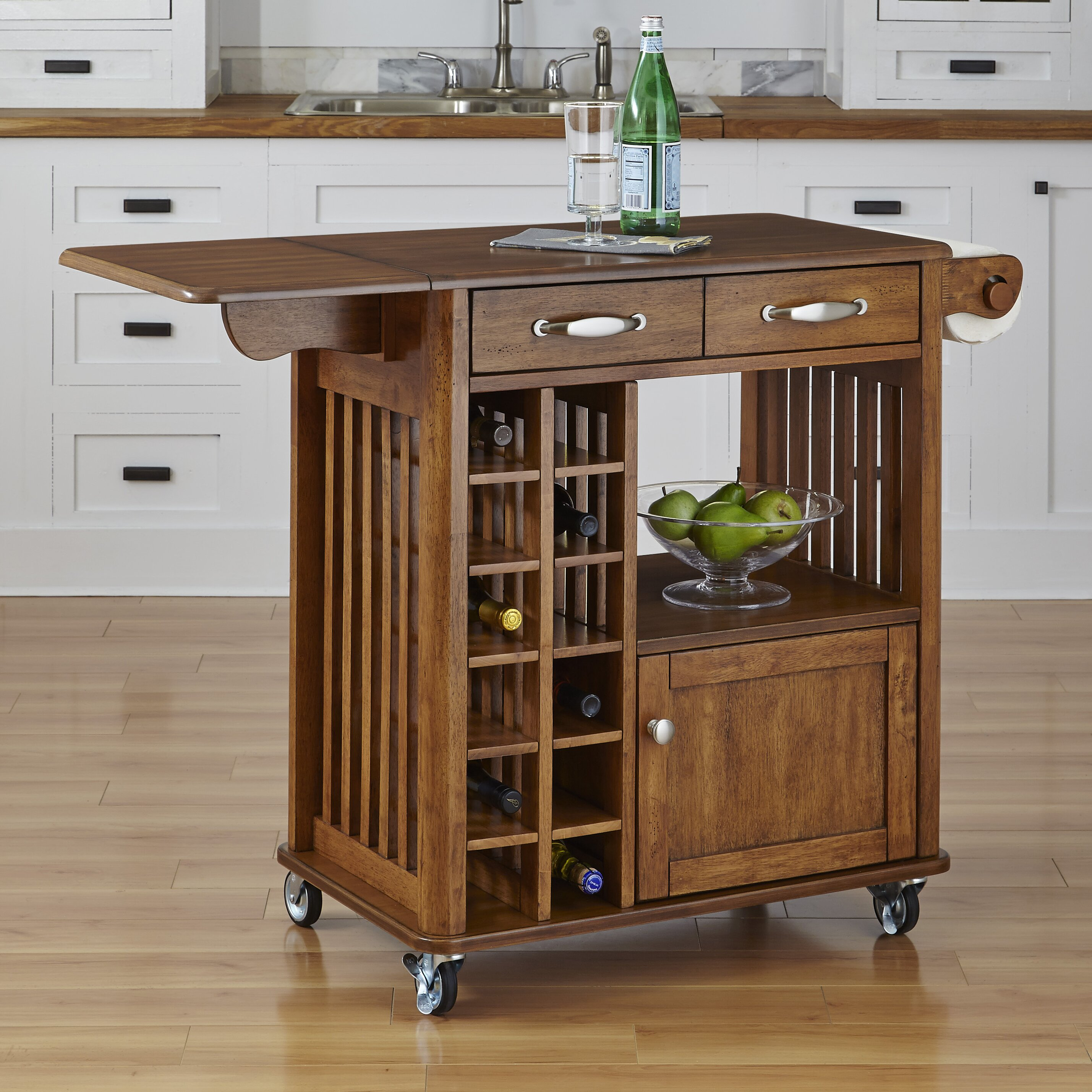 Home Styles Kitchen Cart & Reviews
