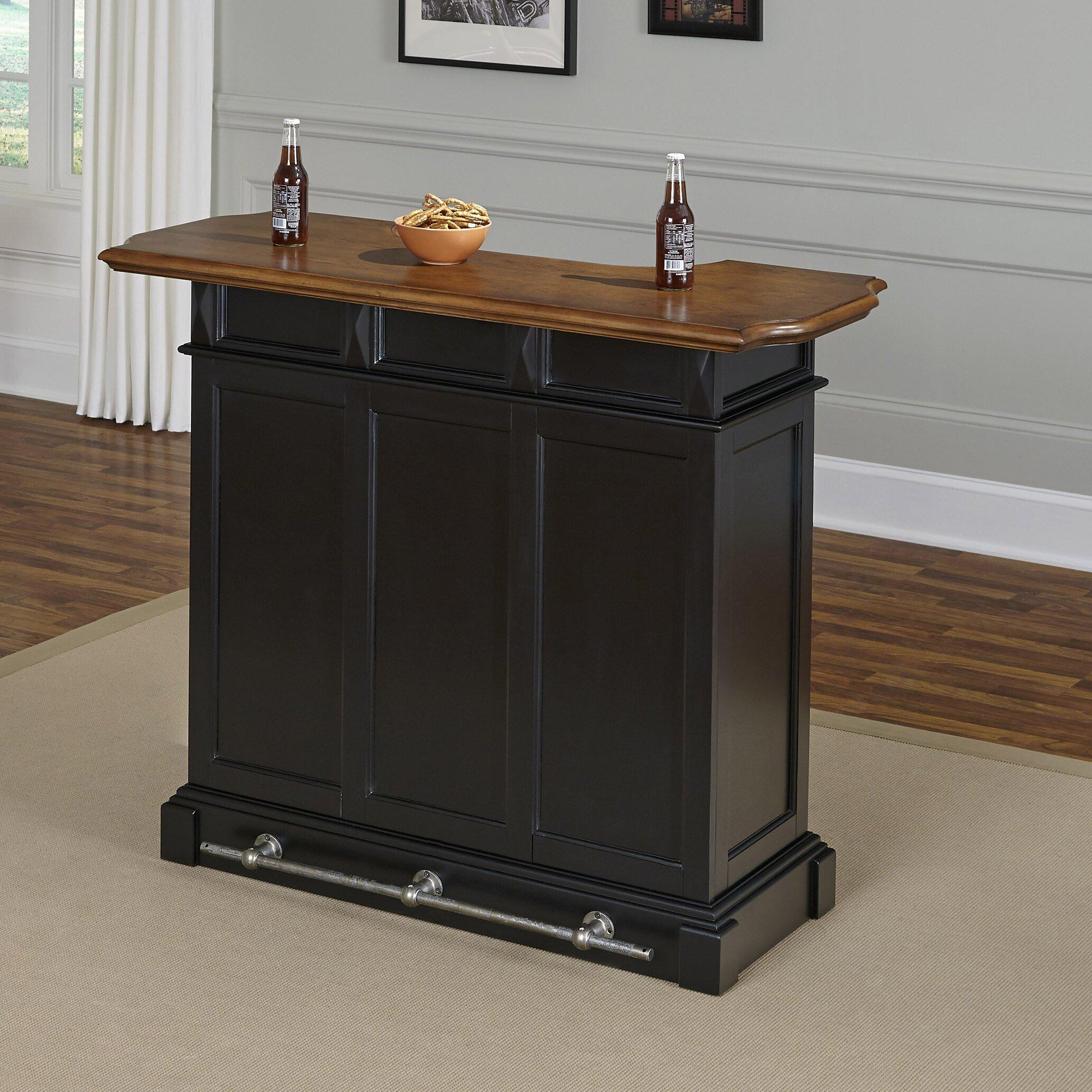 Home Styles Americana Home Bar & Reviews