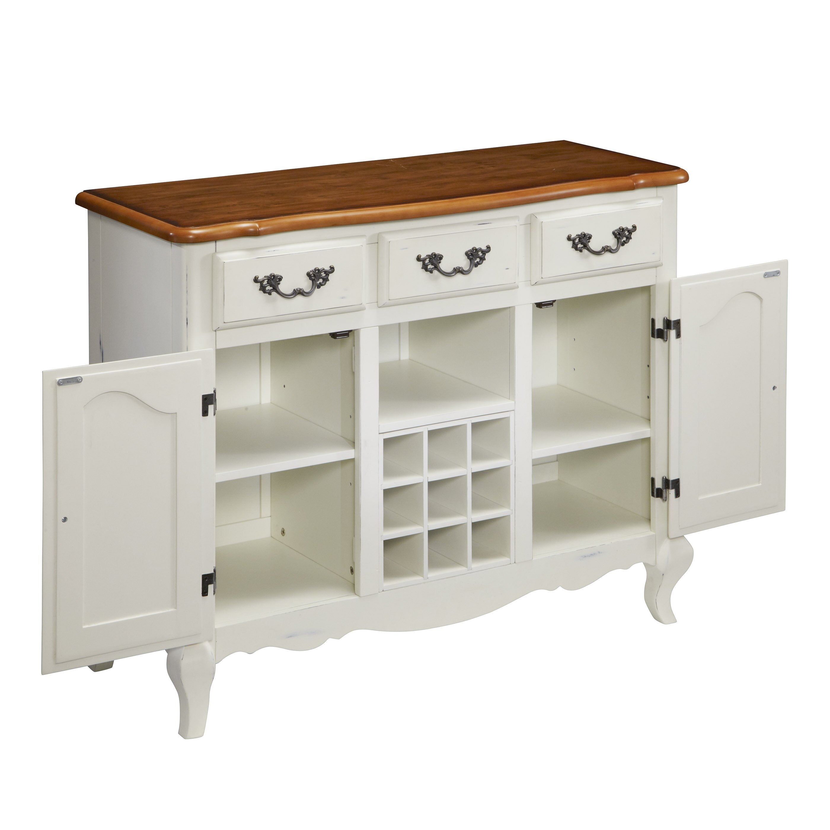 Home styles french countryside buffet reviews wayfair for Homestyles com