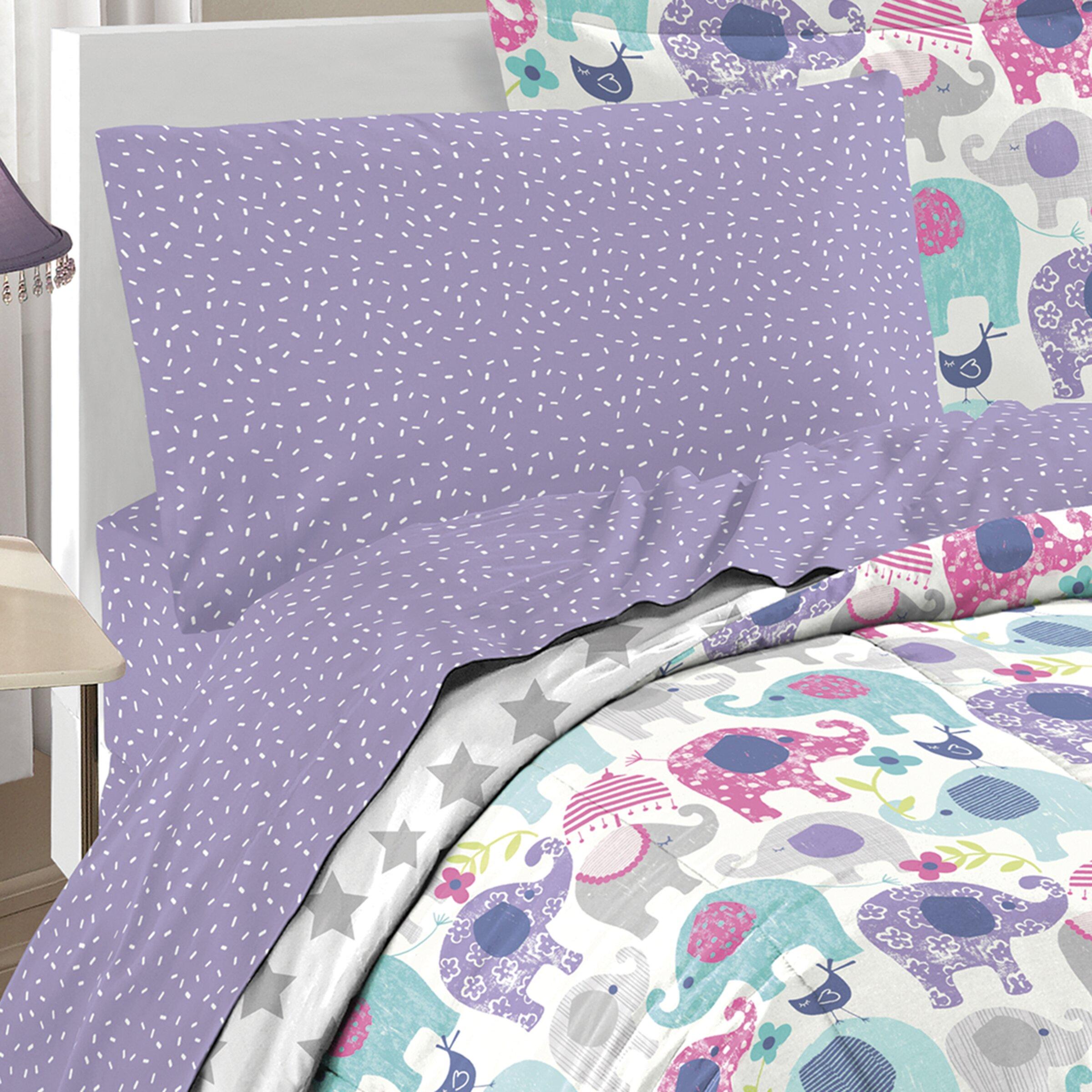 Elley Elephant Bed In A Bag Set Wayfair