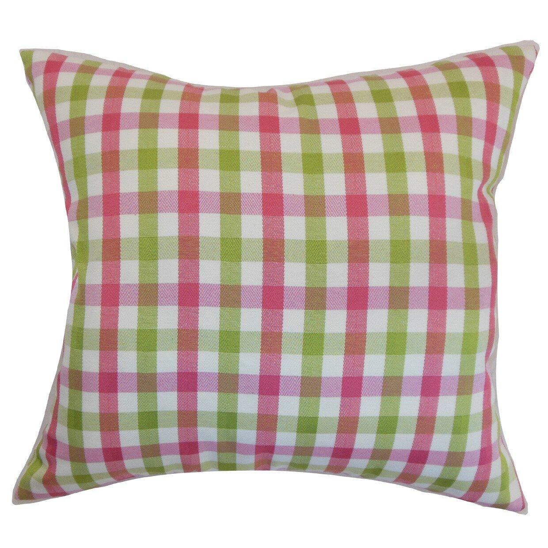 Manteo Cotton Throw Pillow Wayfair