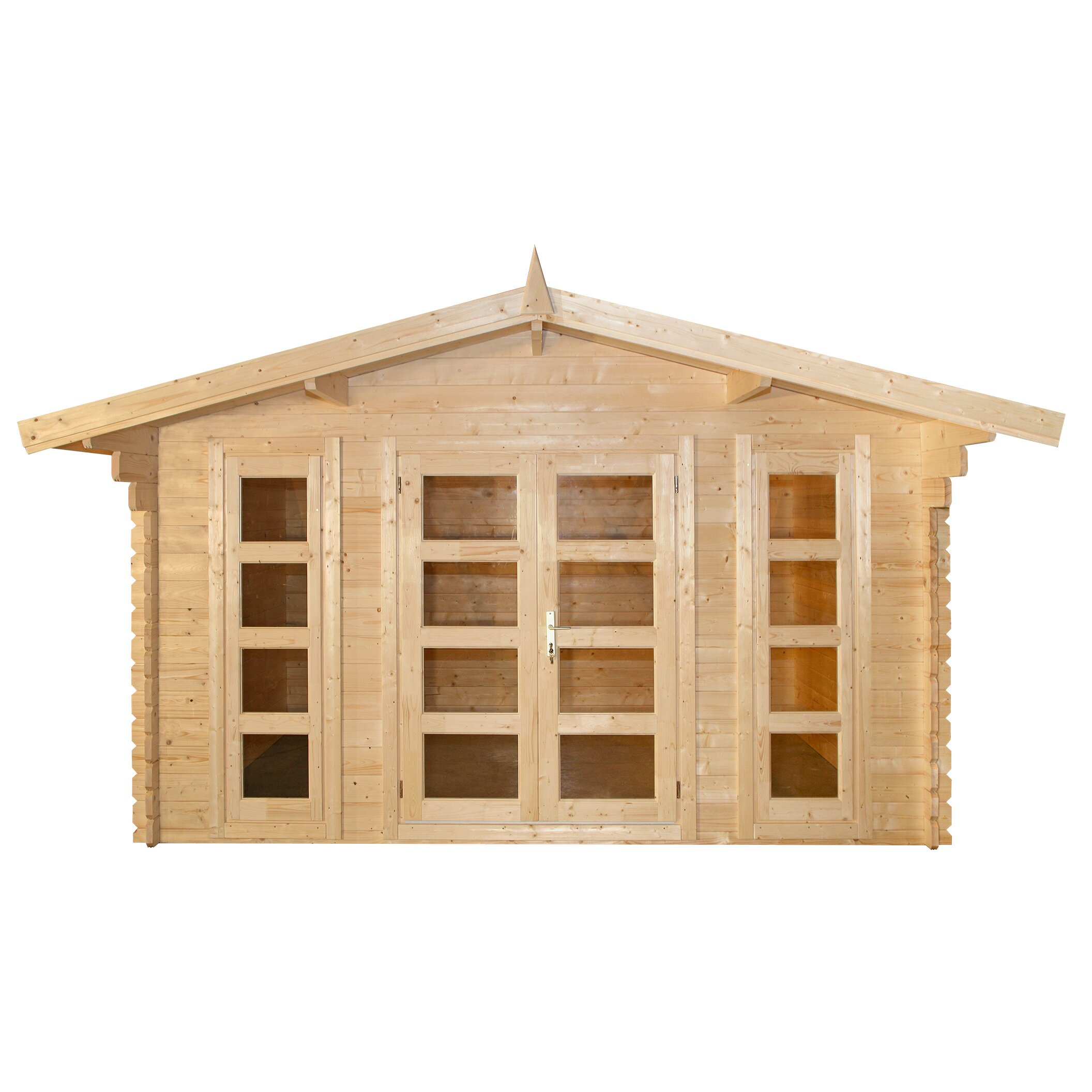 Bristol 13 ft w x 10 ft d solid wood garden shed wayfair for 9 x 9 garden shed