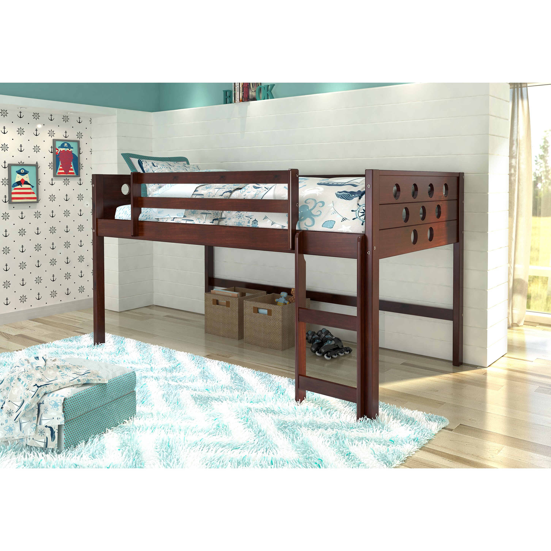Loft Bed: Donco Kids Circles Twin Loft Bed & Reviews