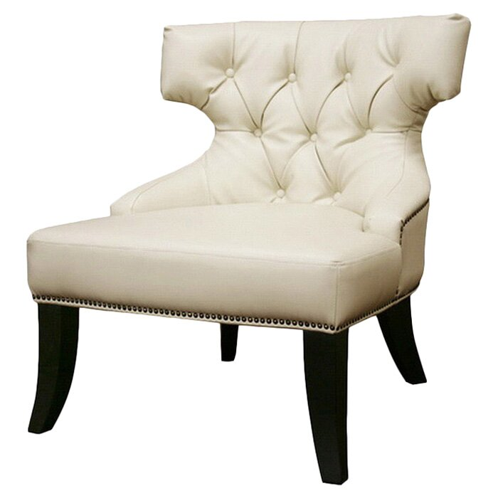 Wholesale Interiors Baxton Studio Leather Chair & Reviews