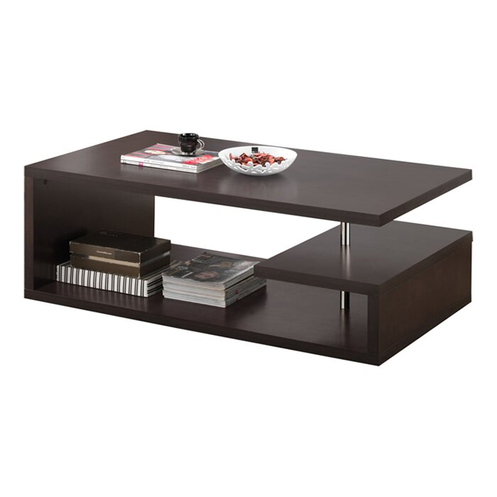 baxton studio lindy coffee table wayfair
