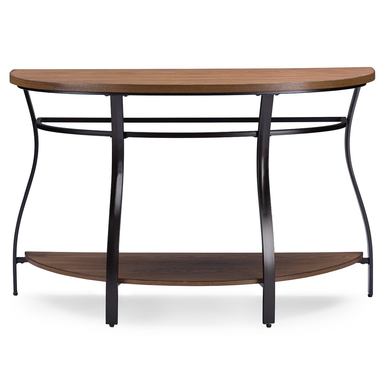 wholesale interiors baxton studio newcastle console table