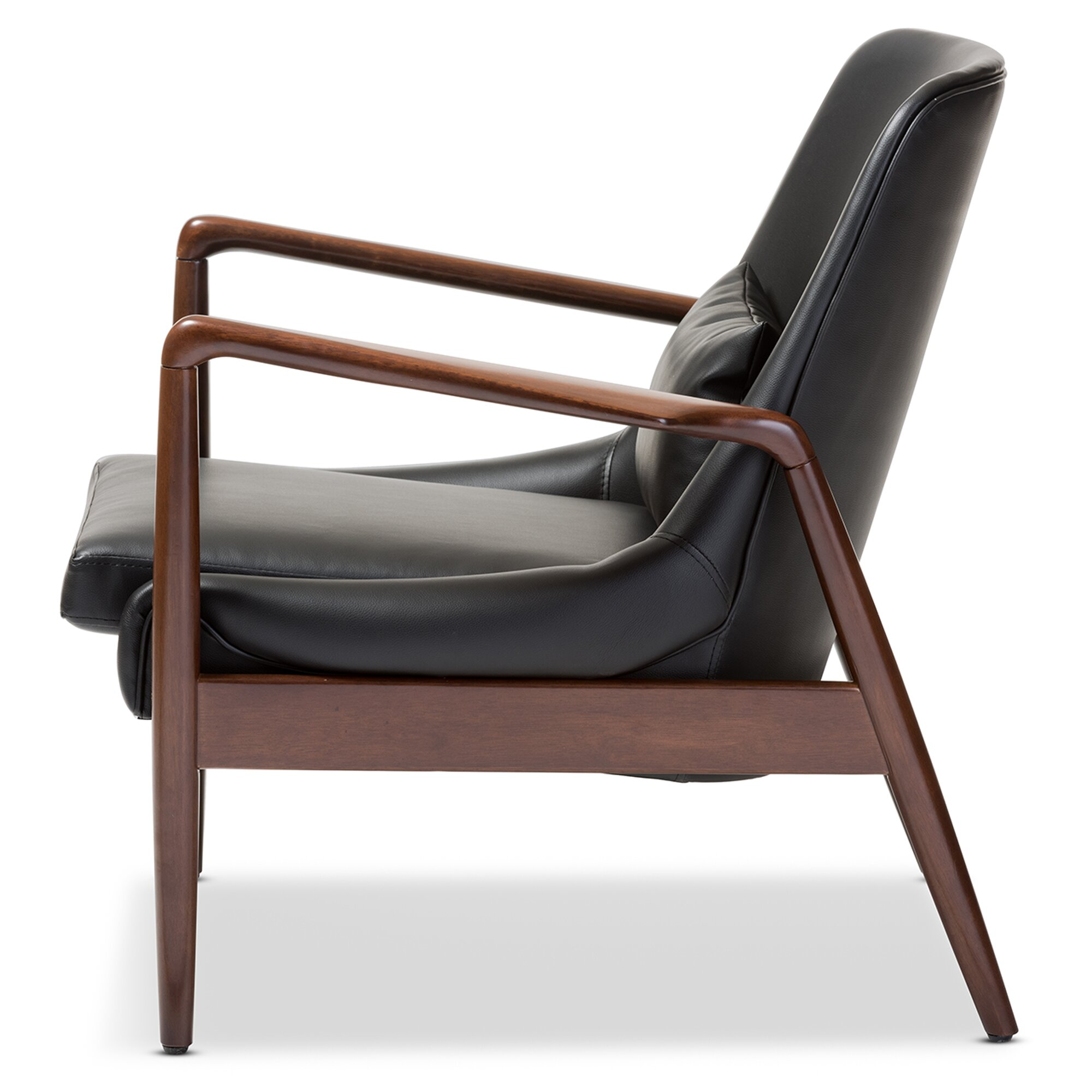 Baxton Studio Carter Lounge Chair Wayfair