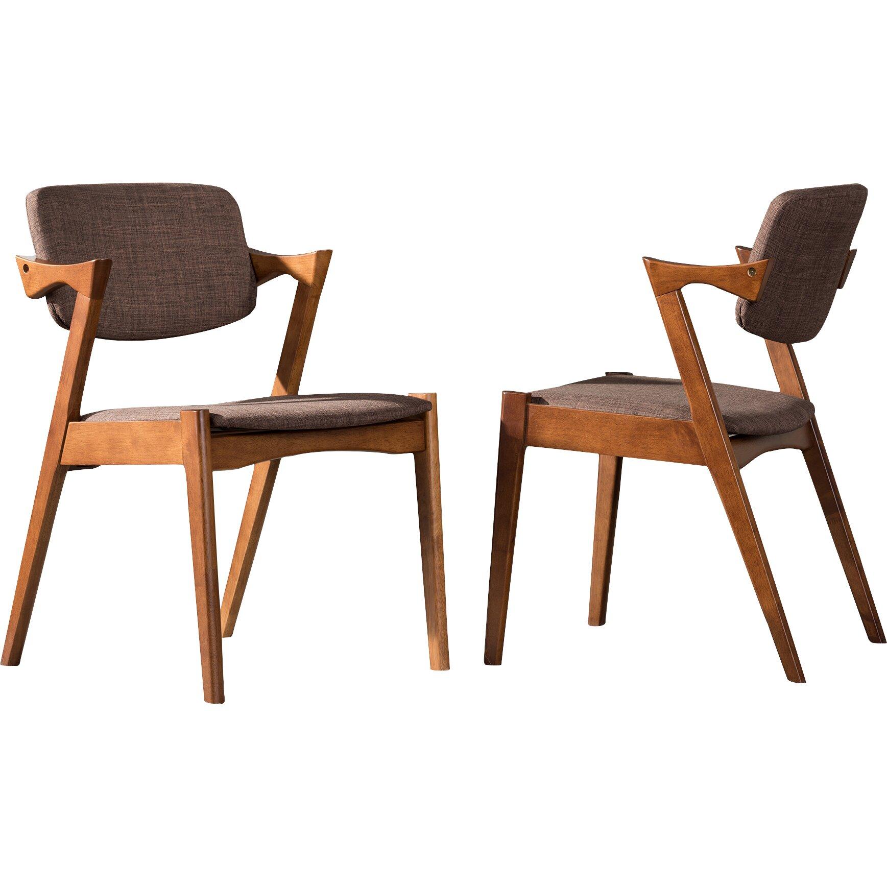 Wholesale Interiors Elegant Upholstered Side Chair