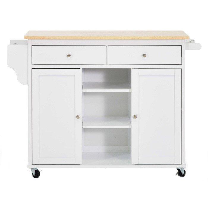 Wholesale Interiors Bradford Serving Cart Reviews: Wholesale Interiors Baxton Studio Meryland Modern Kitchen