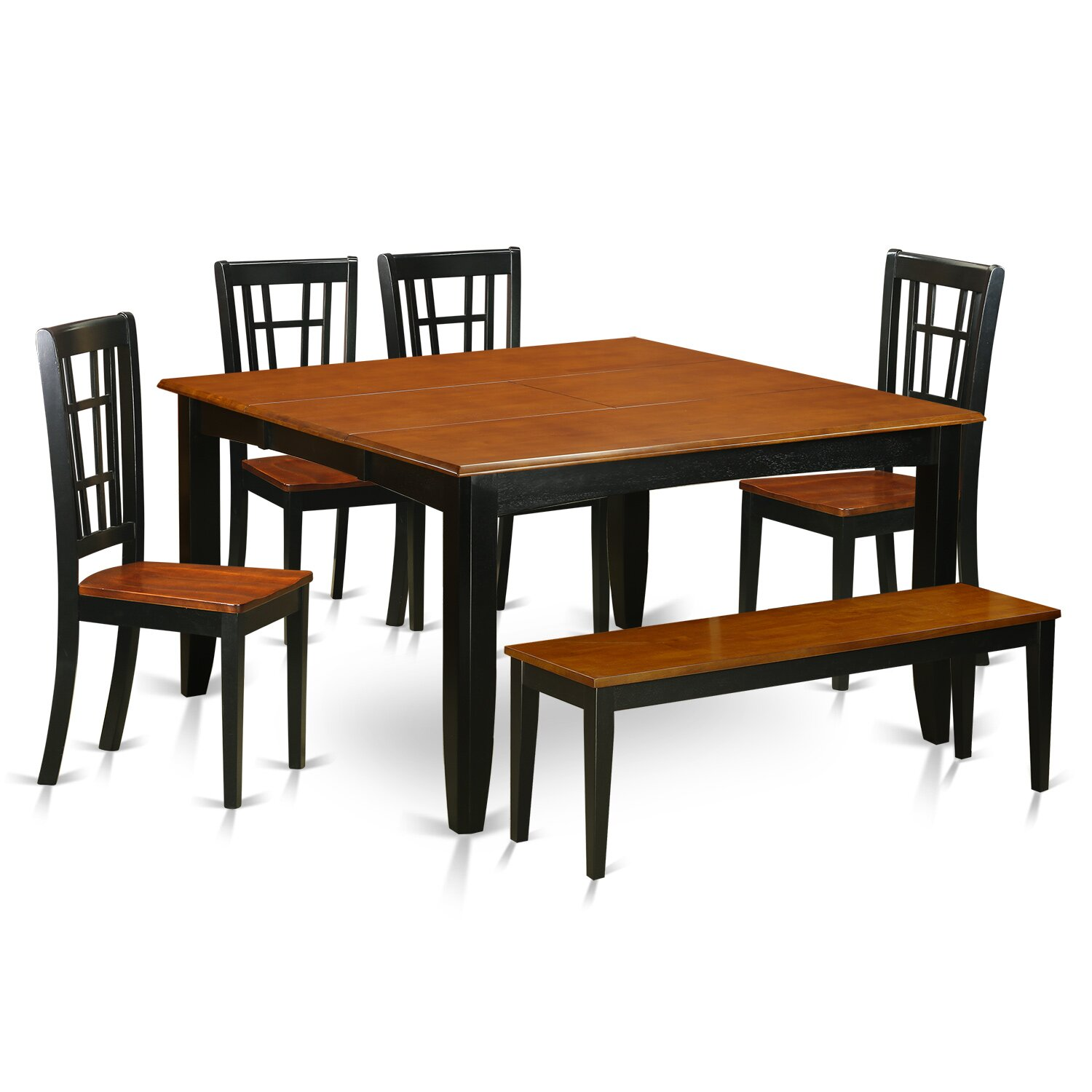 parfait 6 piece dining set wayfair