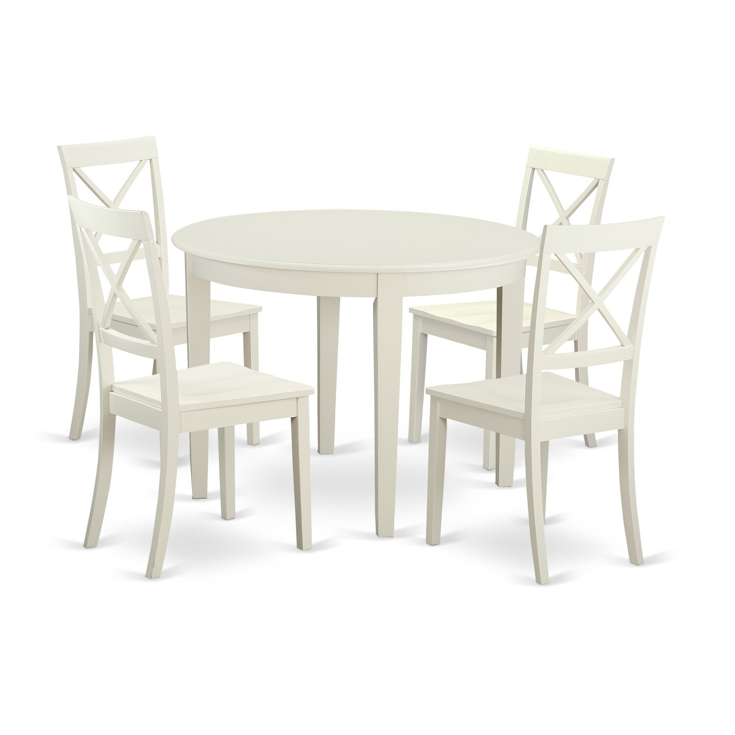 Kitchen Nook Table Set: East West Boston 5 Piece Dining Set & Reviews