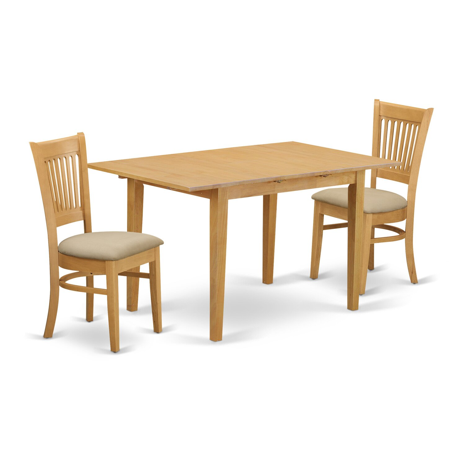 Norfolk 3 piece dining set wayfair for 2 piece dining room set