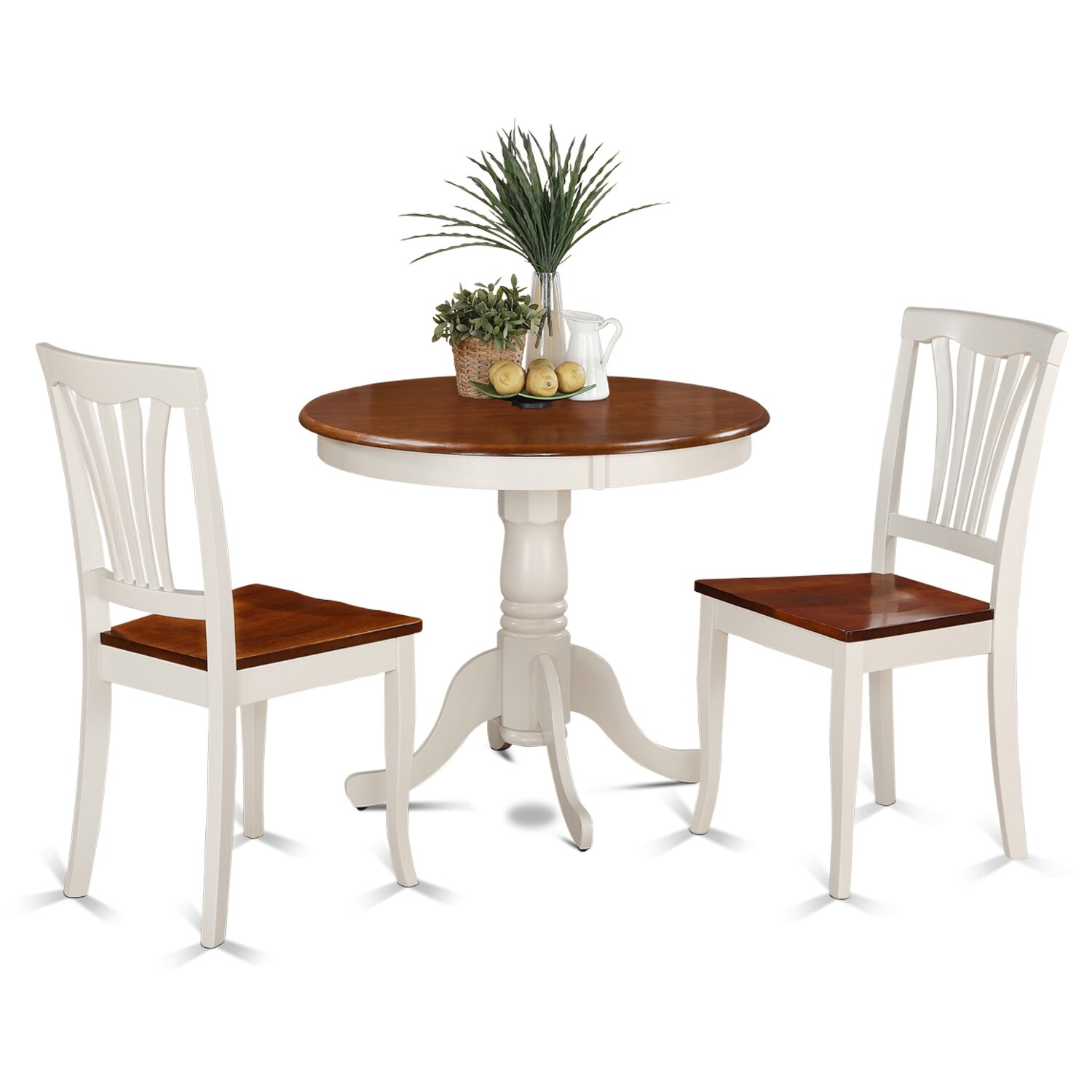 Wooden Importers 3 Piece Dining Set Reviews: Wooden Importers Bristol 3 Piece Dining Set & Reviews