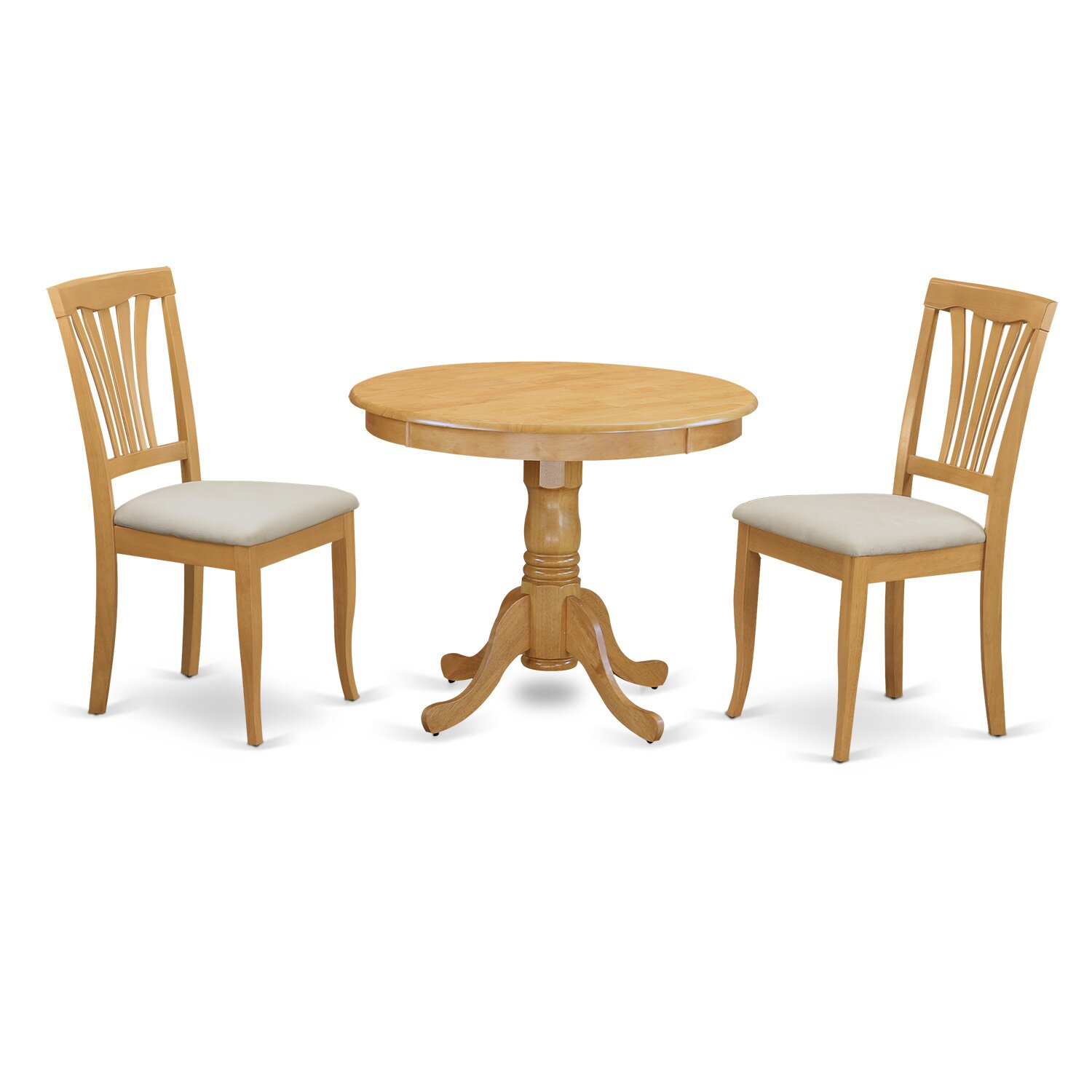 Wayfair Dining Room Chairs Curved Dining Bench Kitchen: 3 Piece Dining Set