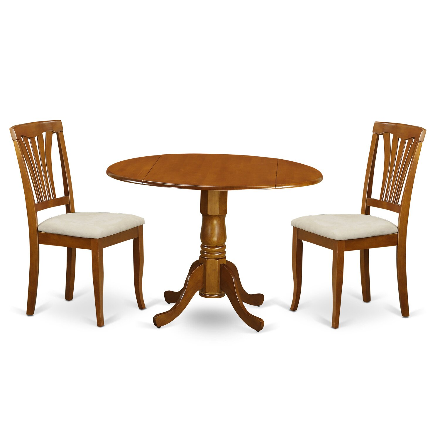 3 chair dining set