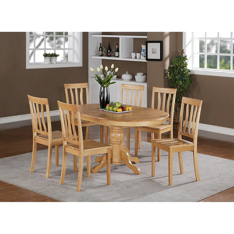 Wooden Importers Lynfield 6 Piece Dining Set: Wooden Importers Avon 7 Piece Dining Set & Reviews