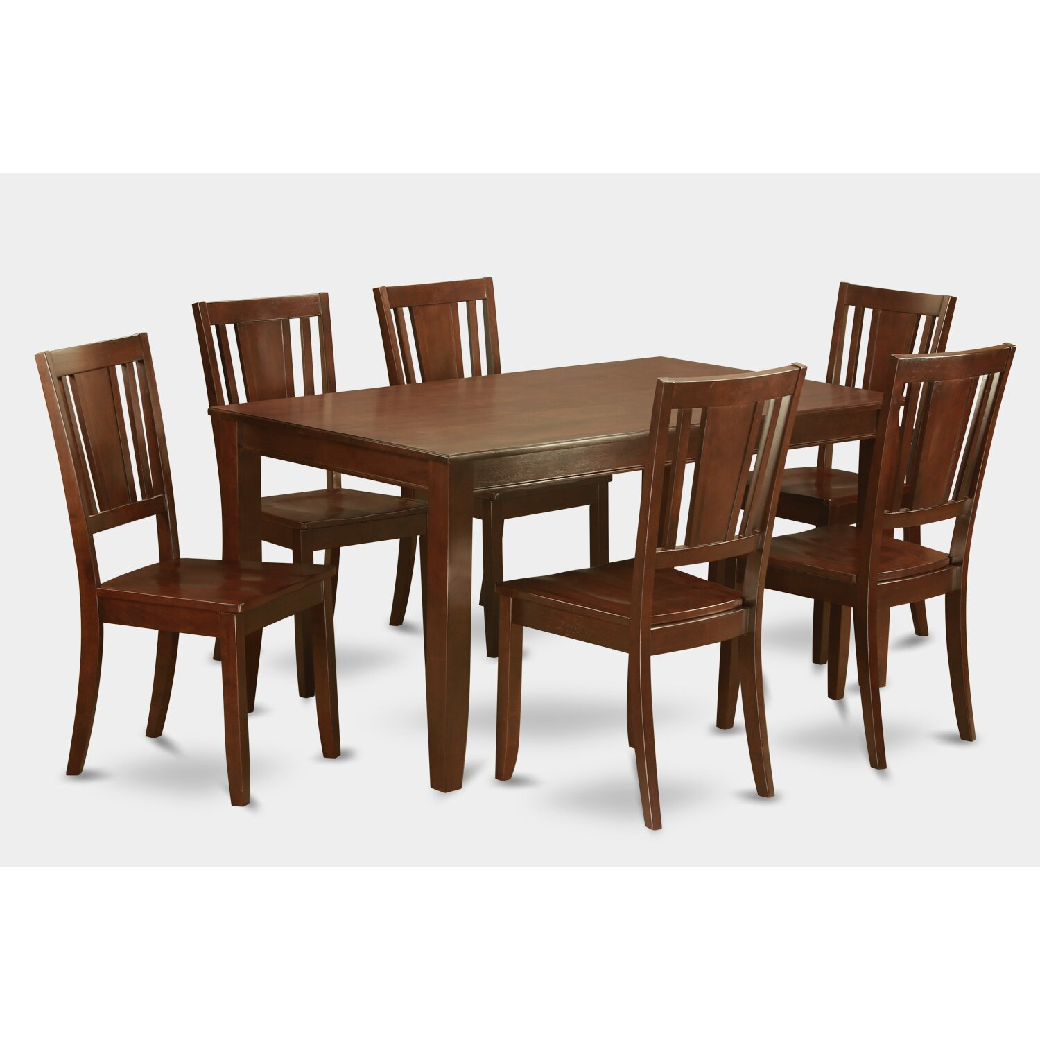 Dudley 7 piece dining set wayfair for 7 piece dining set
