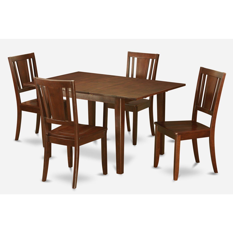 Wooden Importers Lynfield 6 Piece Dining Set: Wooden Importers Picasso 5 Piece Dining Set & Reviews