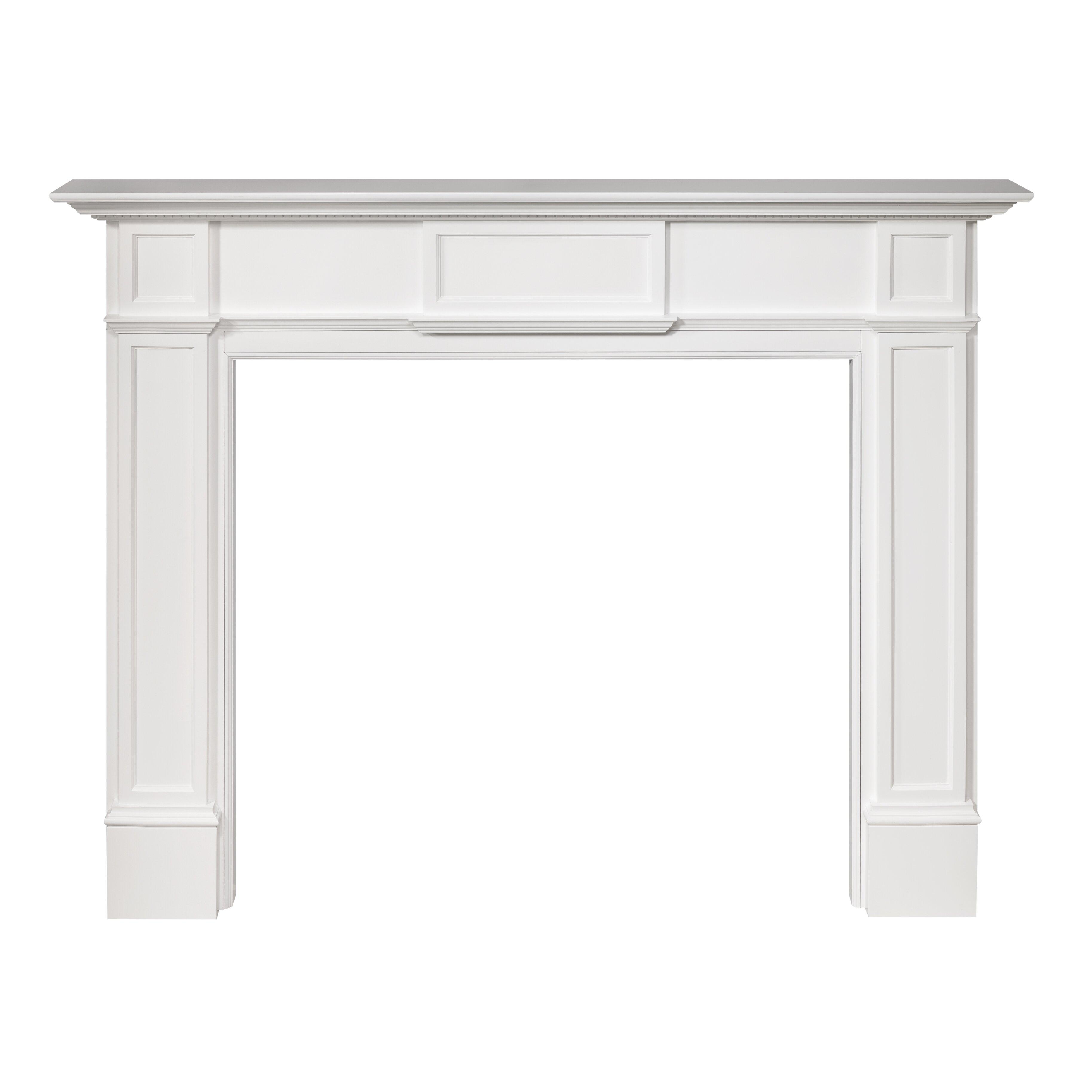 Monticello Gift Shop 56 Quot Monticello Fireplace Mantel Surround Wayfair