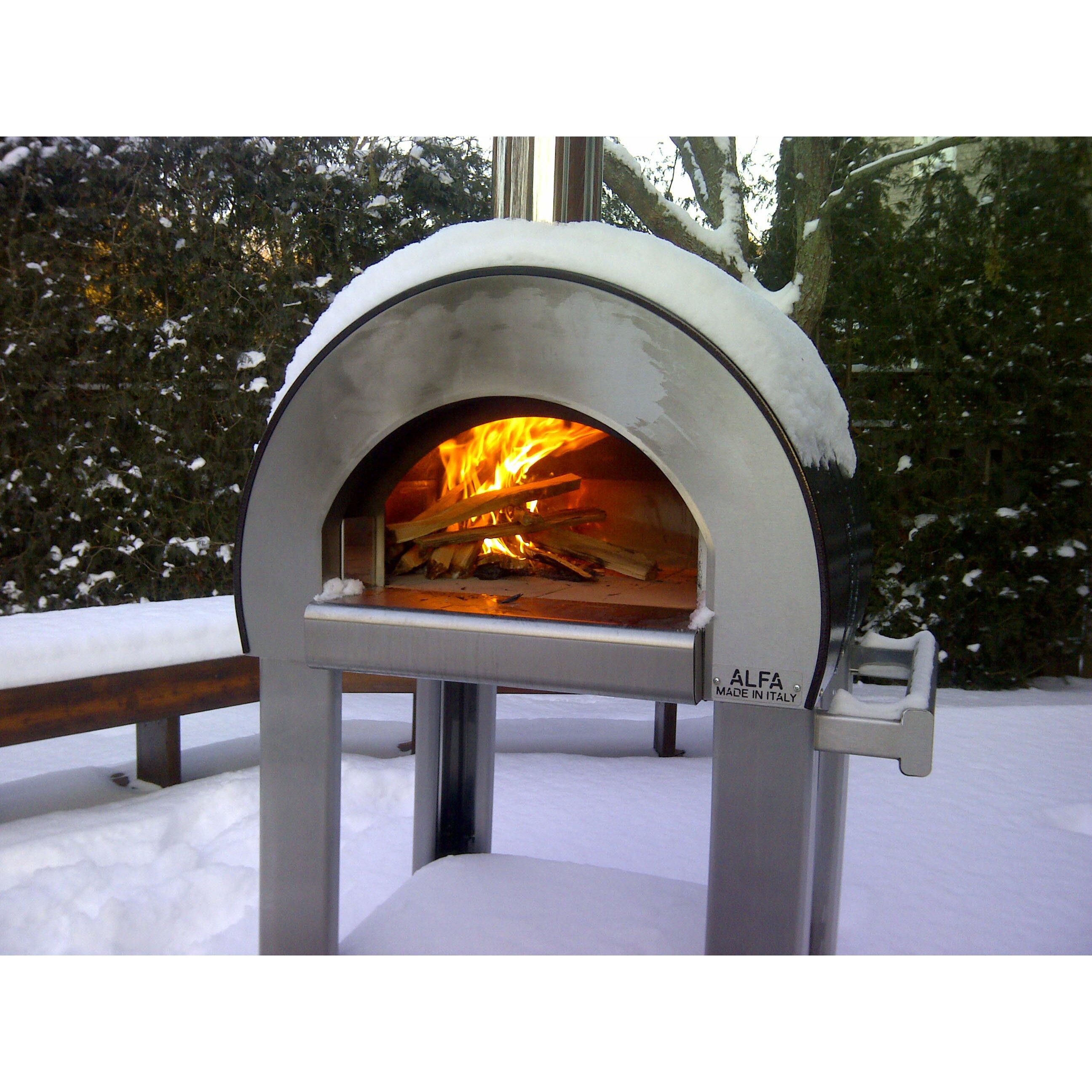 Alfa Pizza Forno 5 Wood Burning Pizza Oven & Reviews   Wayfair