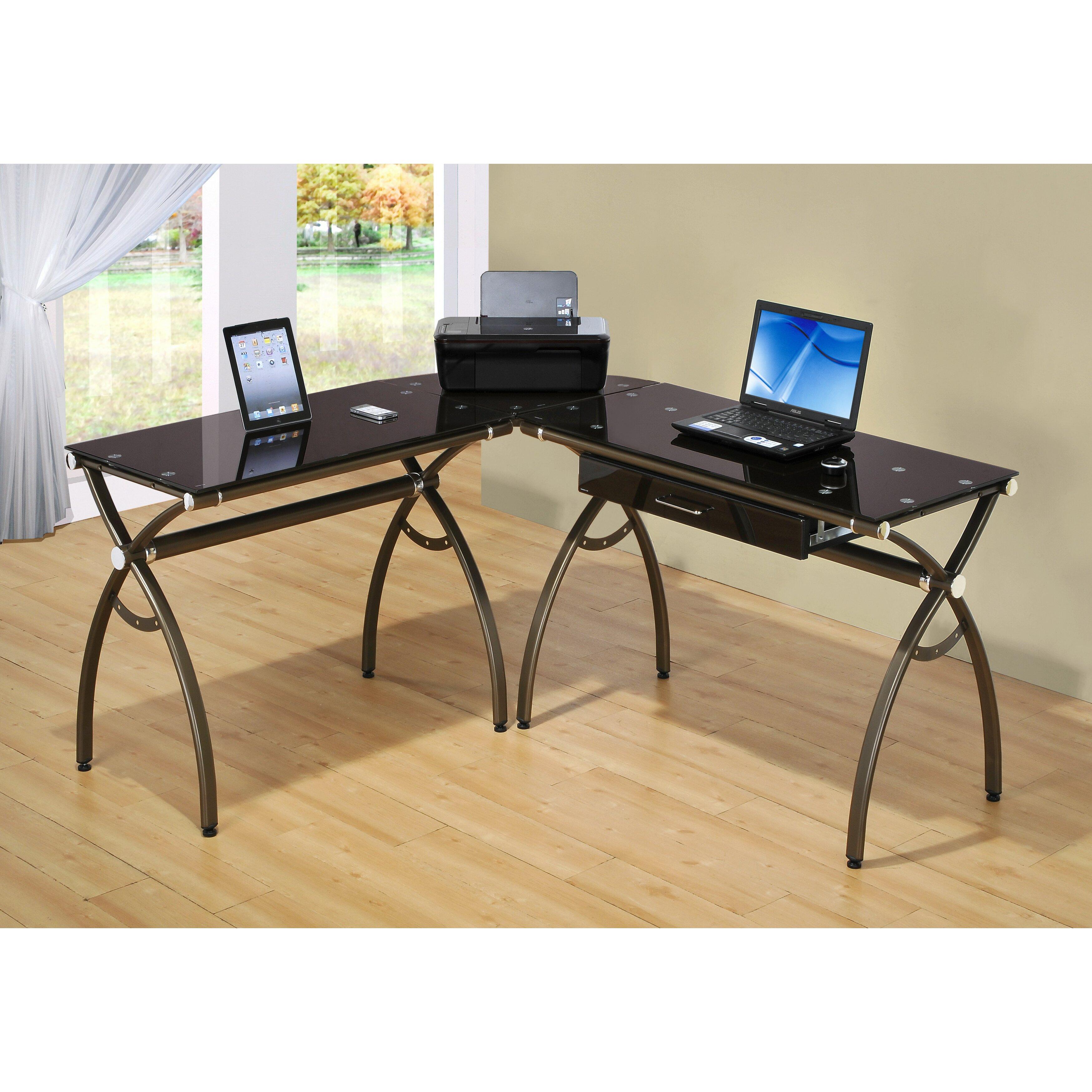 L Shaped Outdoor Kitchen: Techni Mobili L Shaped Computer Desk & Reviews