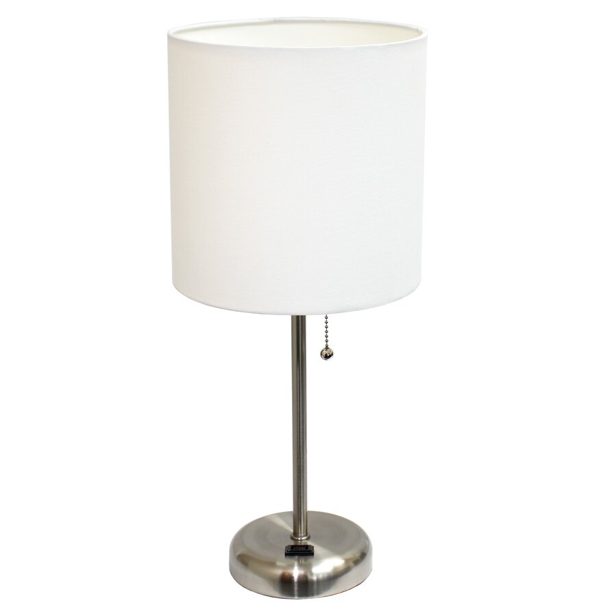 all the rages limelights 19 5 h table lamp with drum. Black Bedroom Furniture Sets. Home Design Ideas