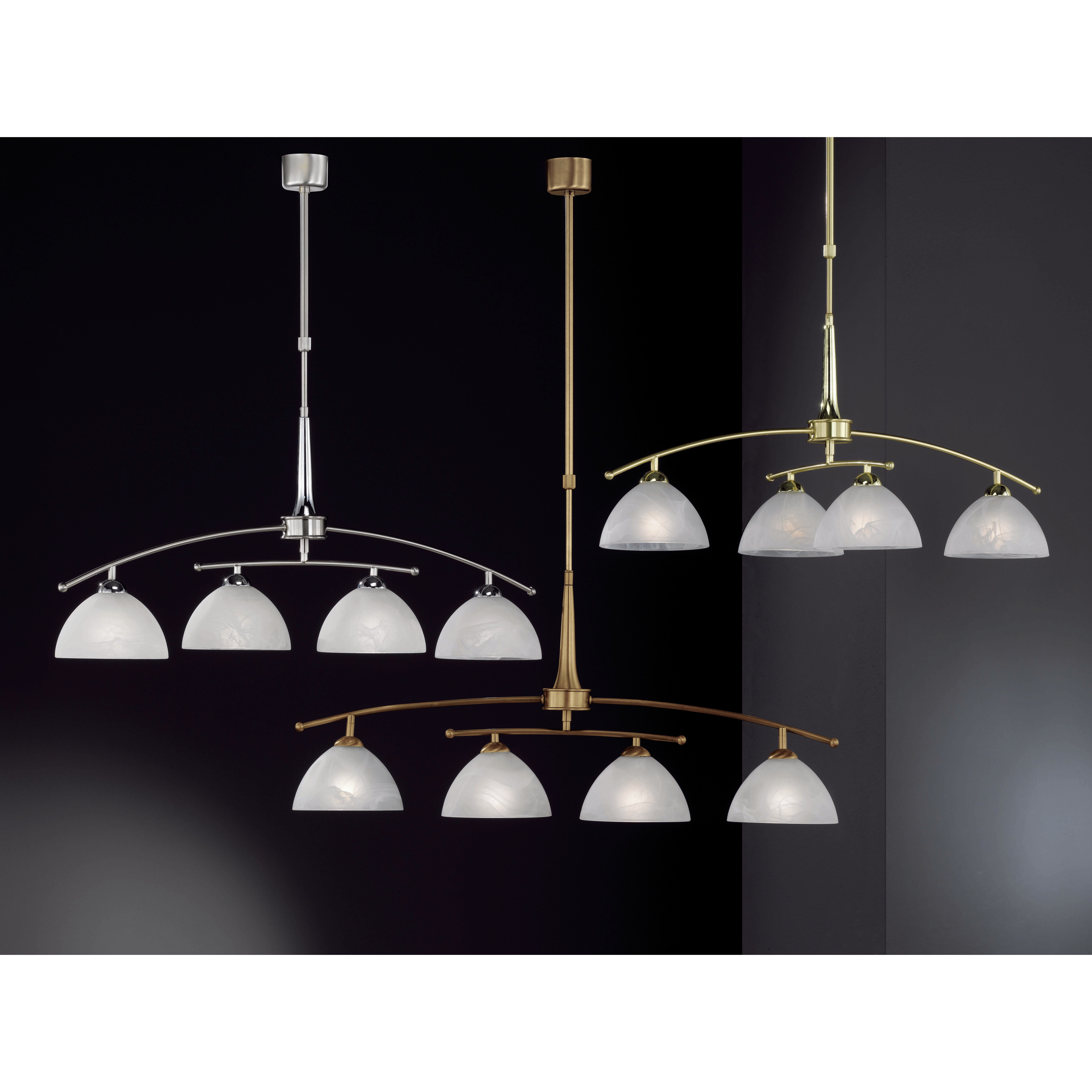 Prestige 4 Light Kitchen Island Pendant