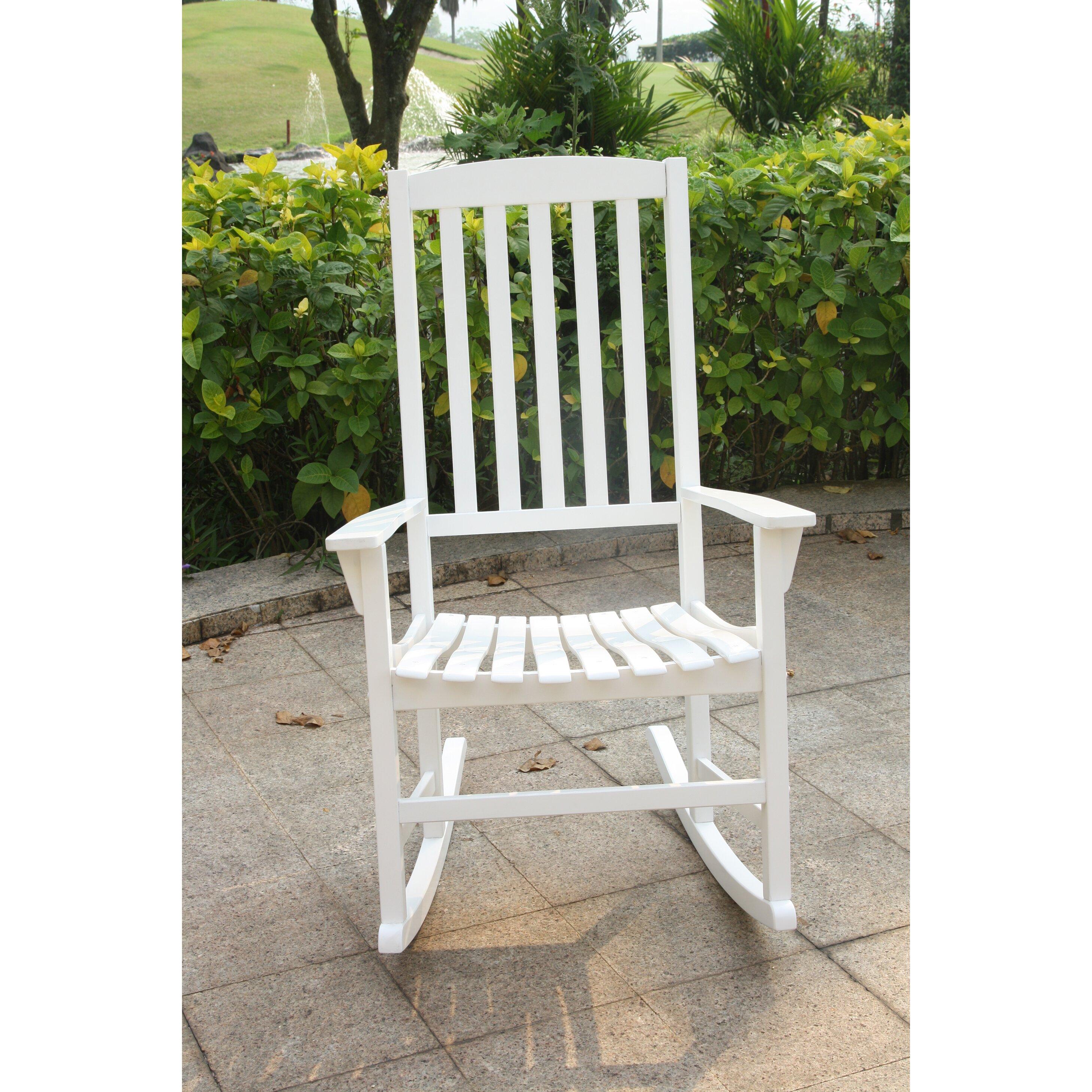 Furniture Living Room Furniture ... Wood Rocking Chairs Fullrich SKU ...