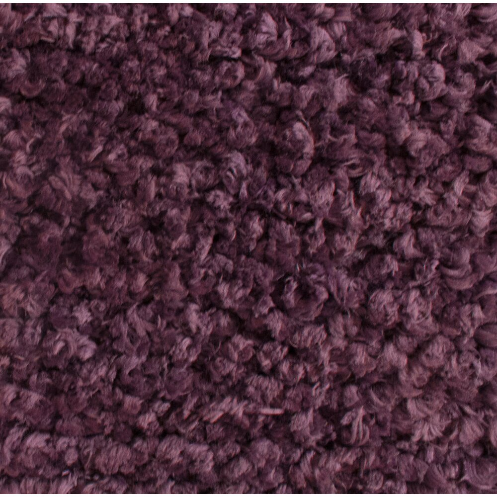 Rug Studio Downy Purple Shag Area Rug Allmodern
