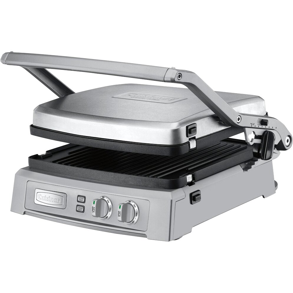 Cuisinart Deluxe Nonstick Reversible Grill Pan And Griddle