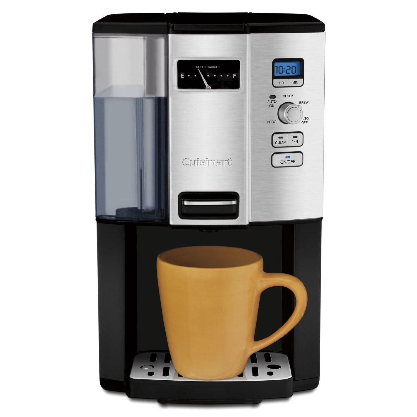 Espresso Coffee Maker Ratings : Cuisinart Cuisinart 12 Cup Programmable Coffee Maker & Reviews Wayfair
