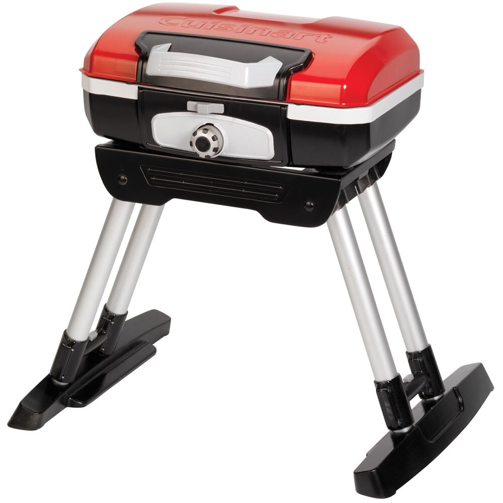 Petit Gourmet Portable LP Gas Outdoor Grill with Versa ...