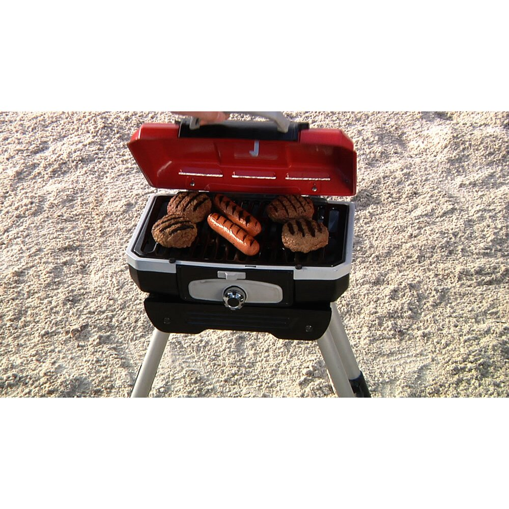 Petit Gourmet Portable LP Gas Outdoor Grill With Versa