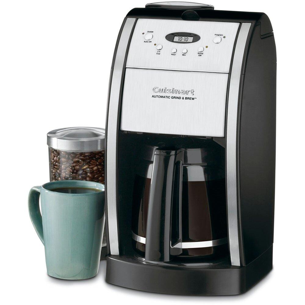 Automatic Coffee Maker Reviews : Cuisinart Grind & Brew 12 Cup Automatic Coffee Maker & Reviews Wayfair