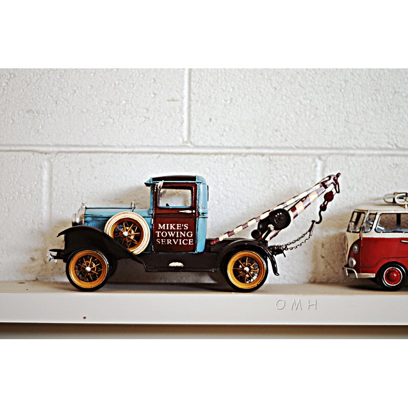 Old Modern Handicrafts Decorative 1931 Ford Model A Tow
