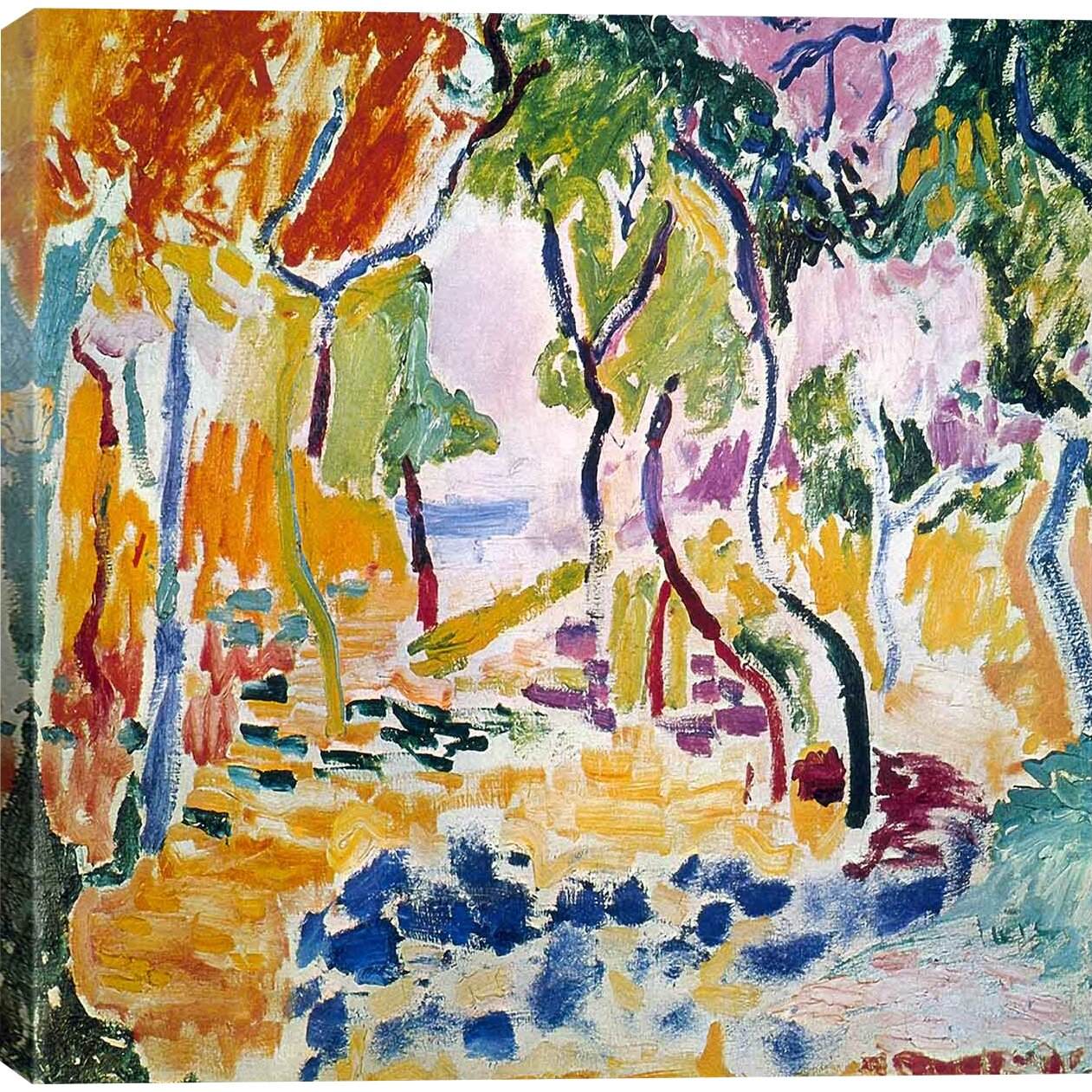 Icanvas The Joy Of Life 1905 By Henri Matisse Painting