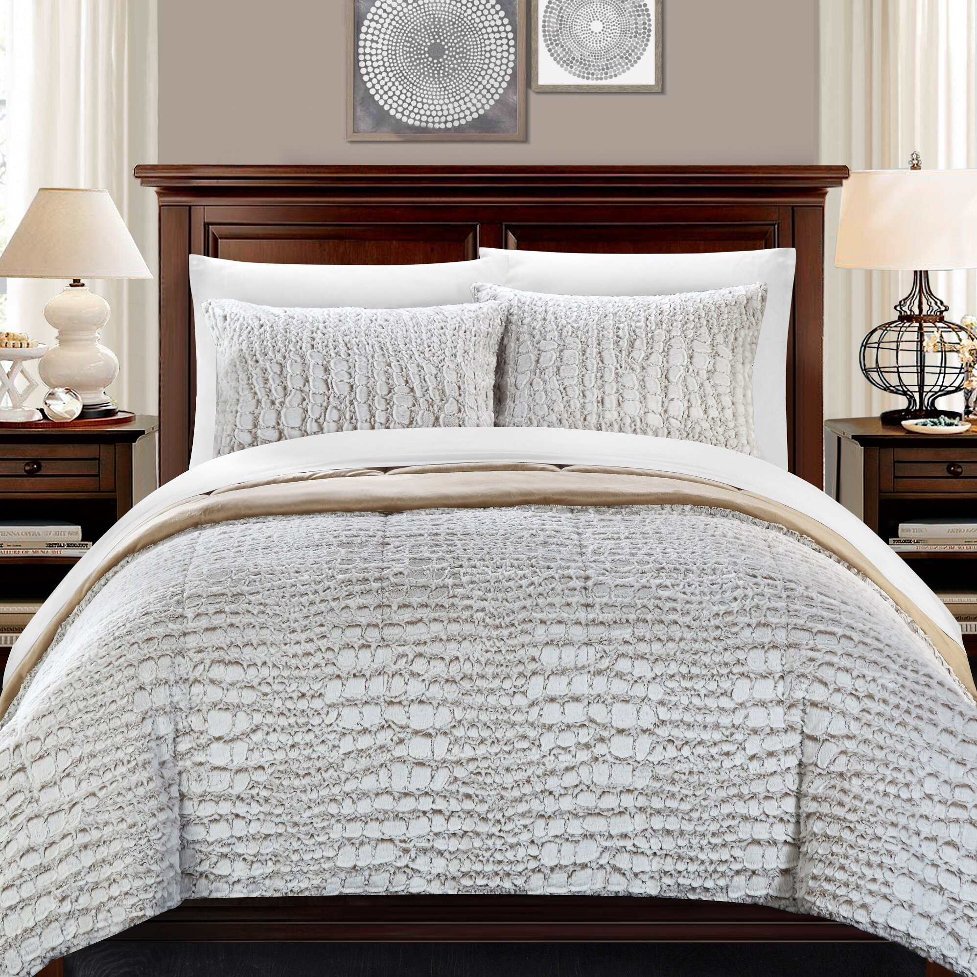 bed bath bedding queen bedding sets chic home sku chde2119