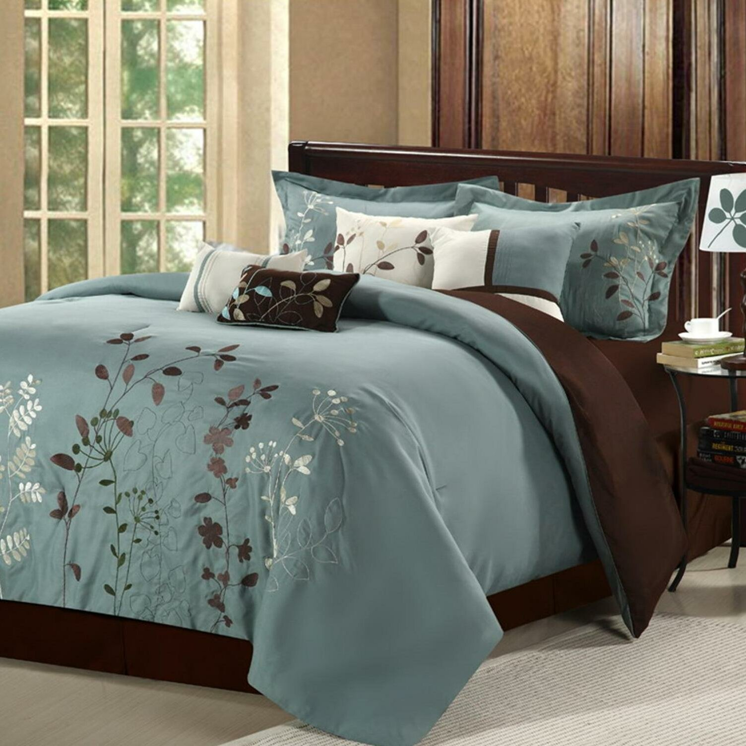 Chic Home Bliss Garden 8 Piece Comforter Set Amp Reviews