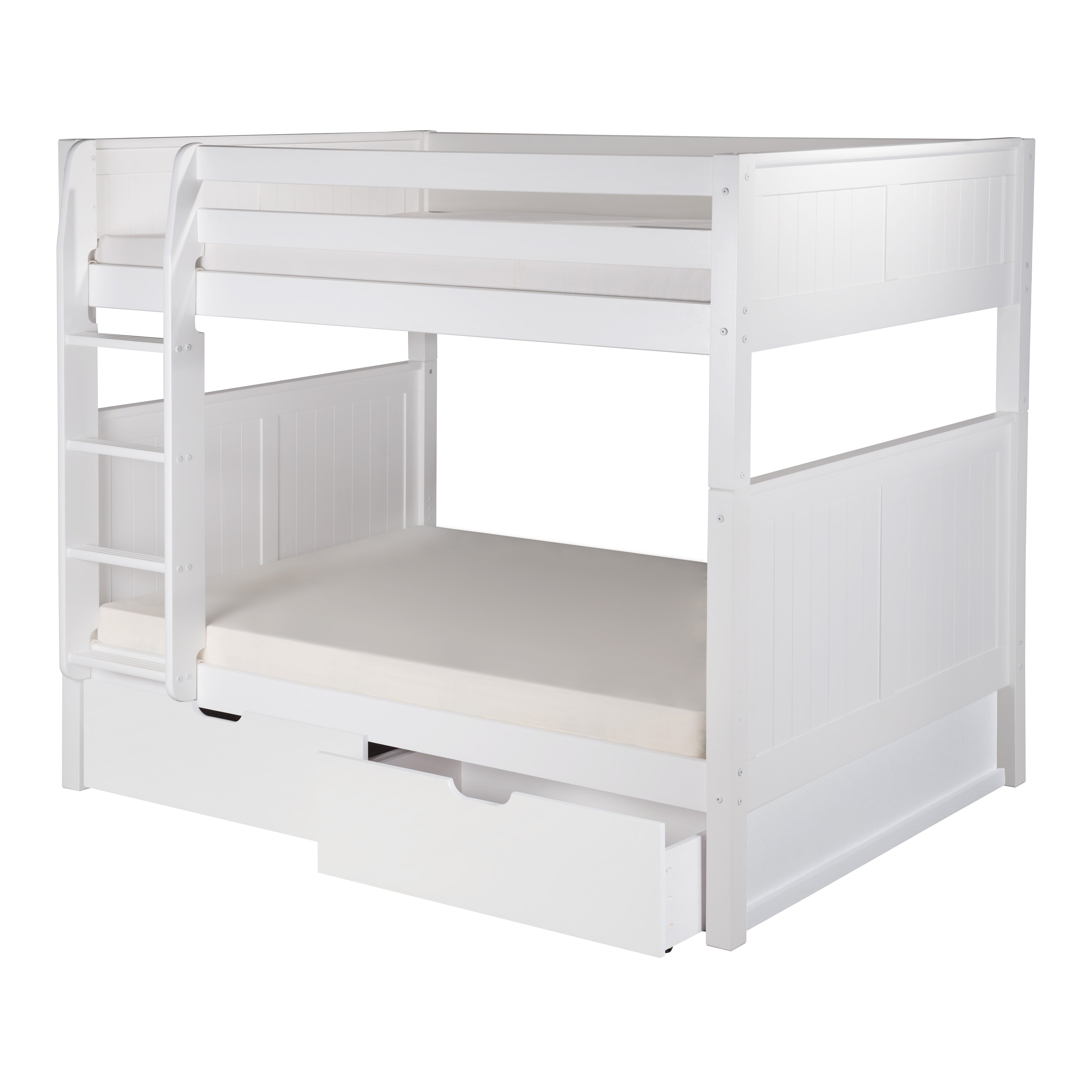 Full Over Full Bunk Bed With Storage Wayfair