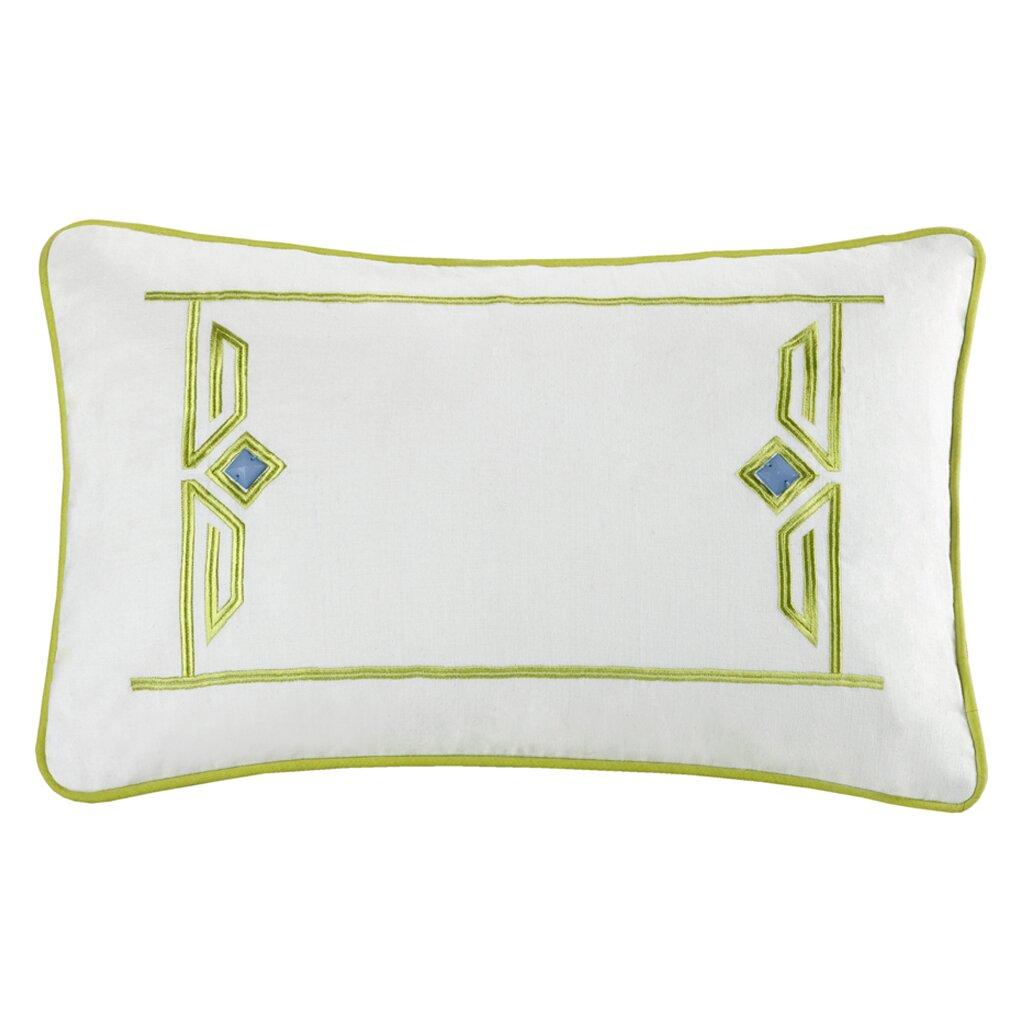 Echo Design Sardinia Cotton Lumbar Pillow amp Reviews Wayfair