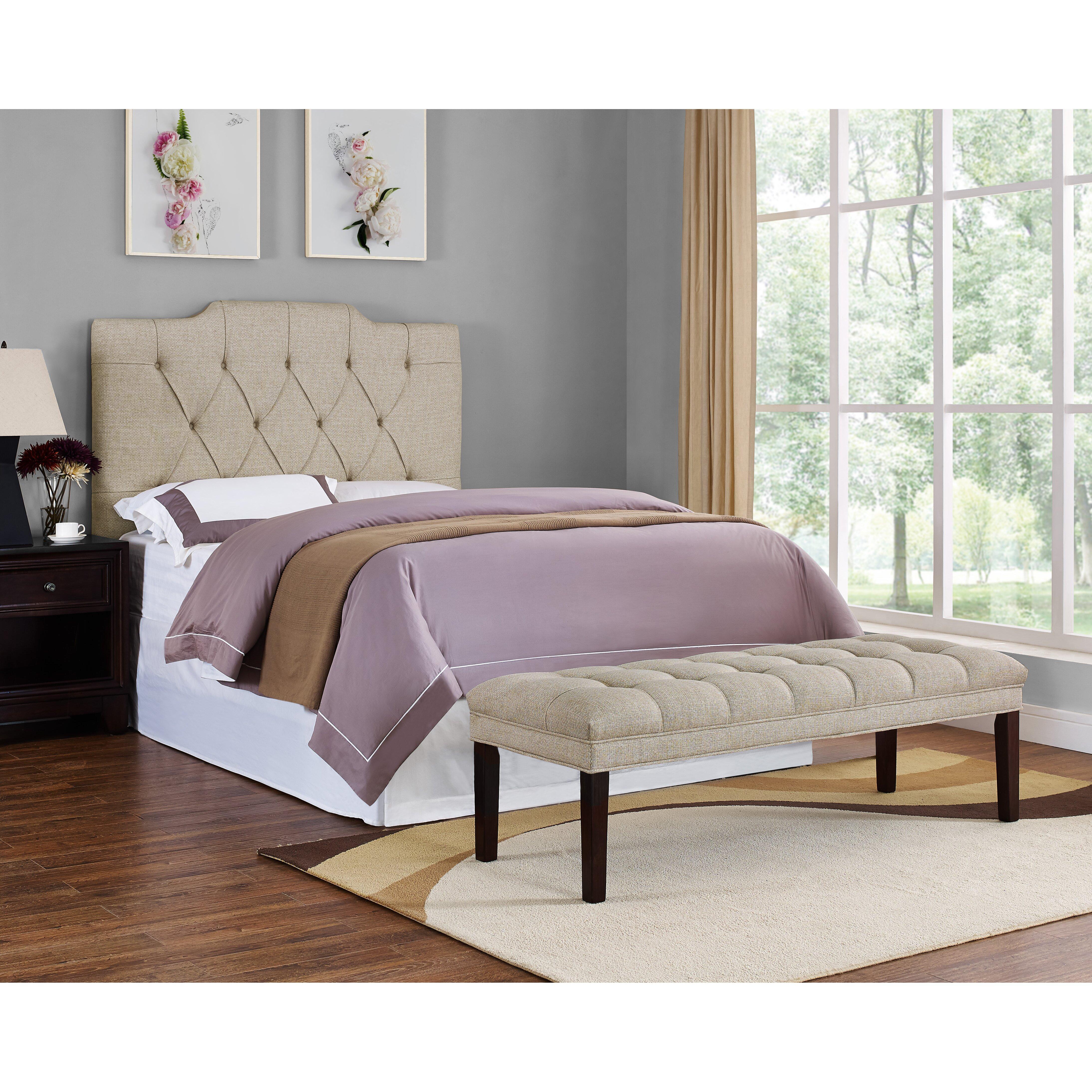 Upholstered Tufted Bedroom Bench Wayfair