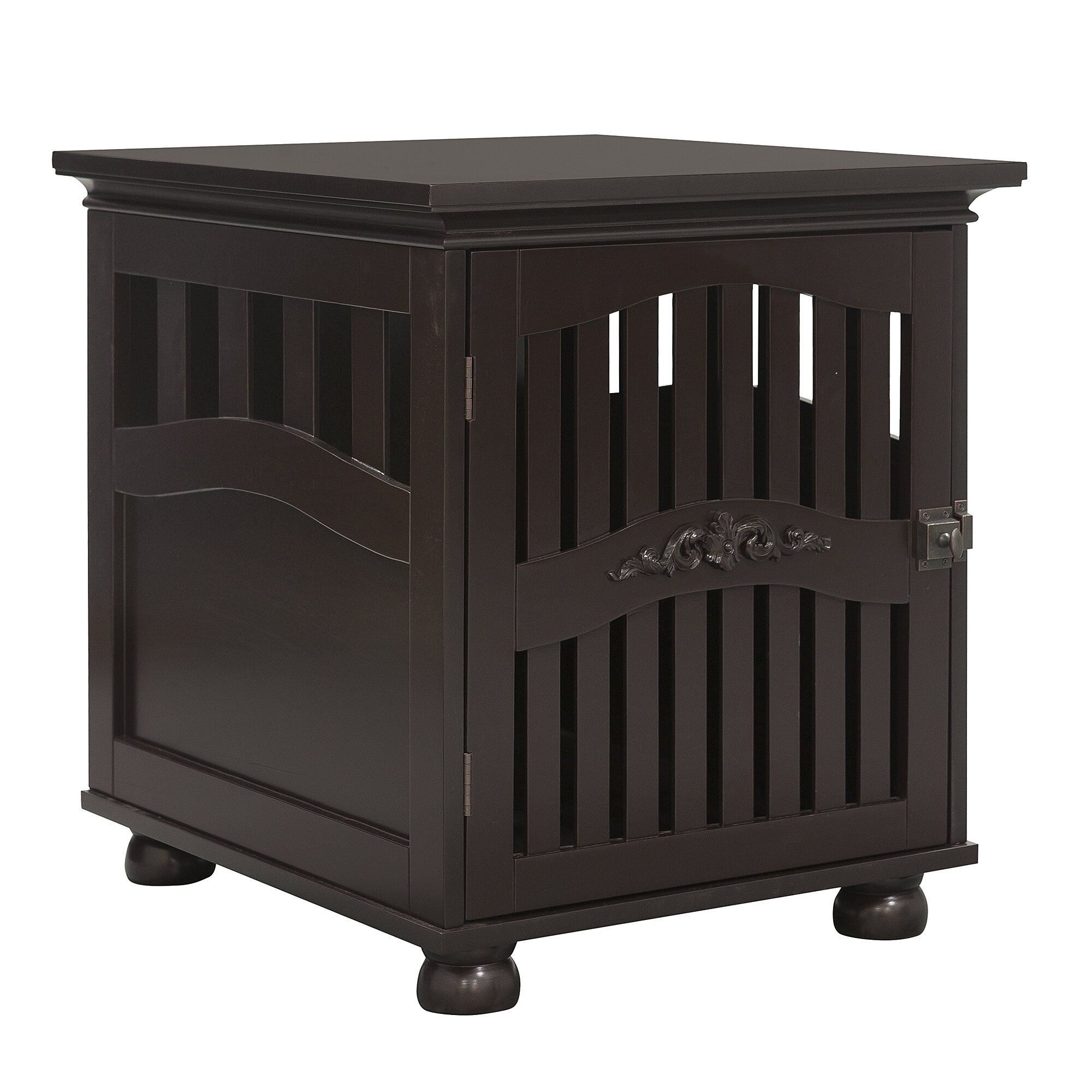 kirkland buddy residence pet crate end table by ethan pets