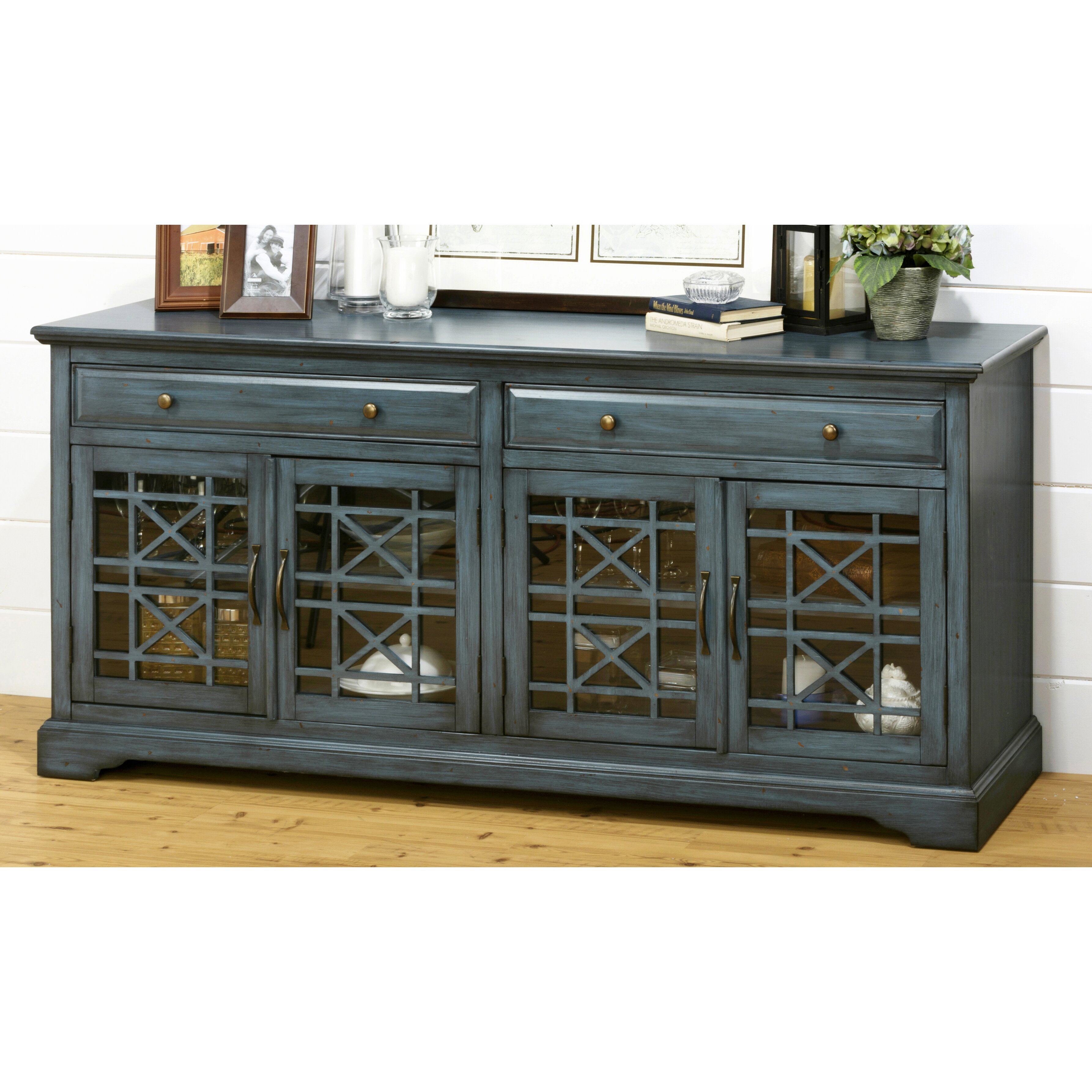 jofran antique tv stand reviews wayfair. Black Bedroom Furniture Sets. Home Design Ideas