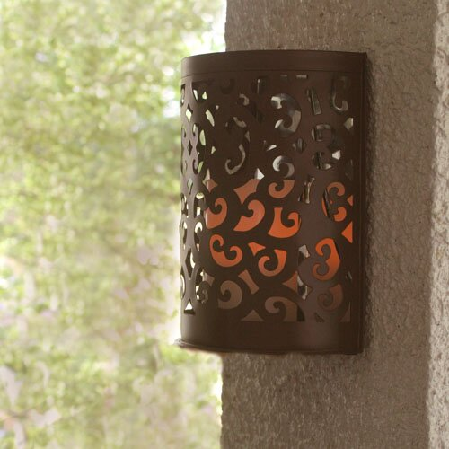 Wayfair Indoor Wall Sconces : Pacific Accents Montrose Indoor/Outdoor Scroll Sconce Wayfair