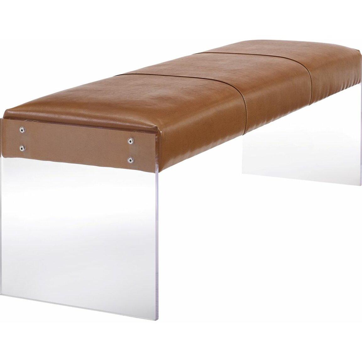 tov envy leather bedroom bench amp reviews wayfair bedroom breathtaking leather bedroom bench give