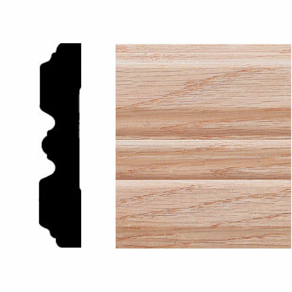 Fluted Trim Boards ~ In ft oak fluted casing moulding