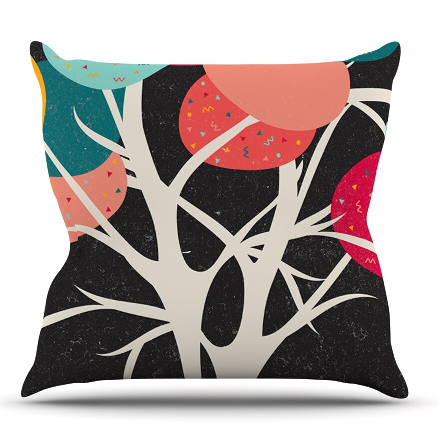 Kess Inhouse Lovely Tree By Danny Ivan Branches Throw