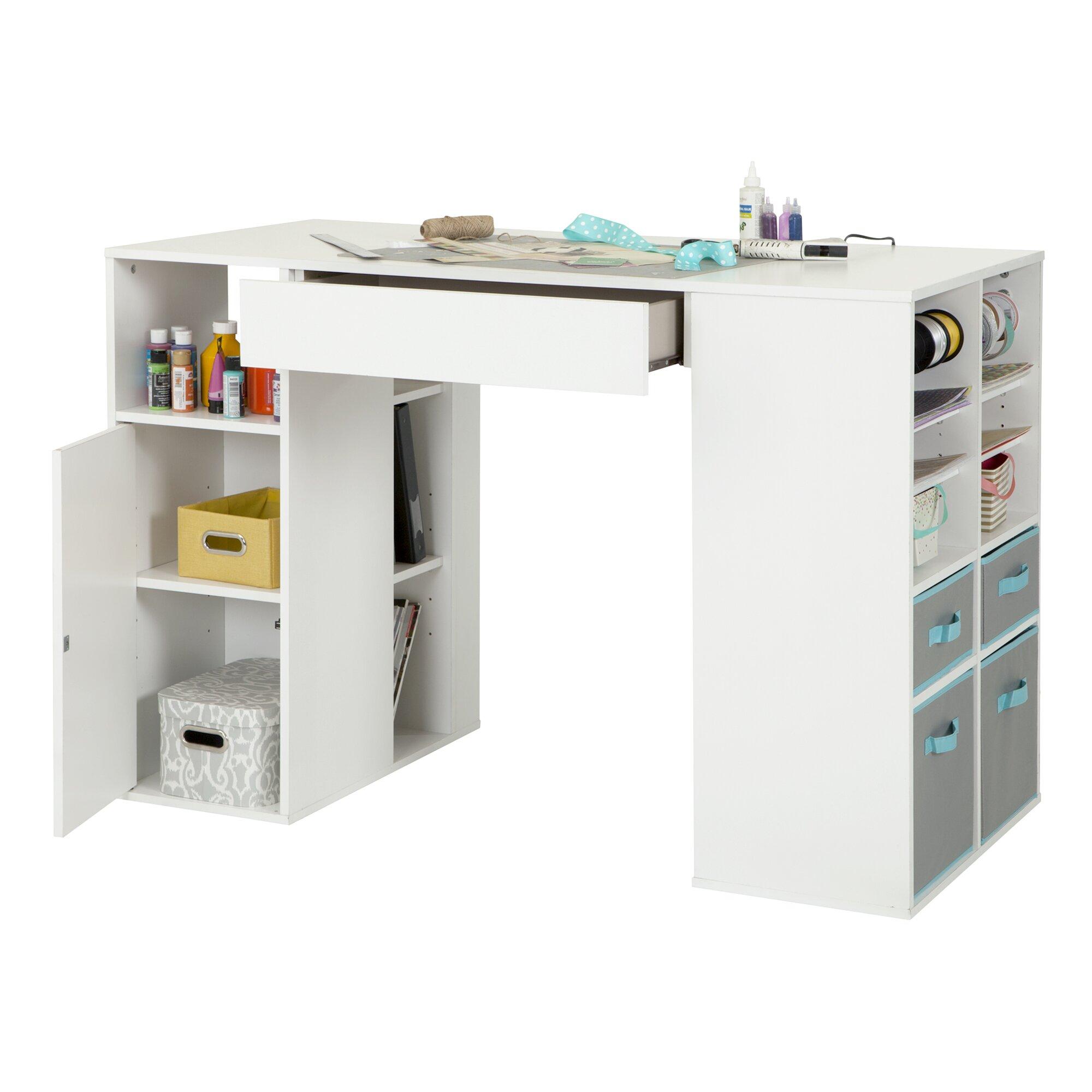 Counter Height Craft Table : South Shore Crea Counter Height Craft Table & Reviews Wayfair.ca