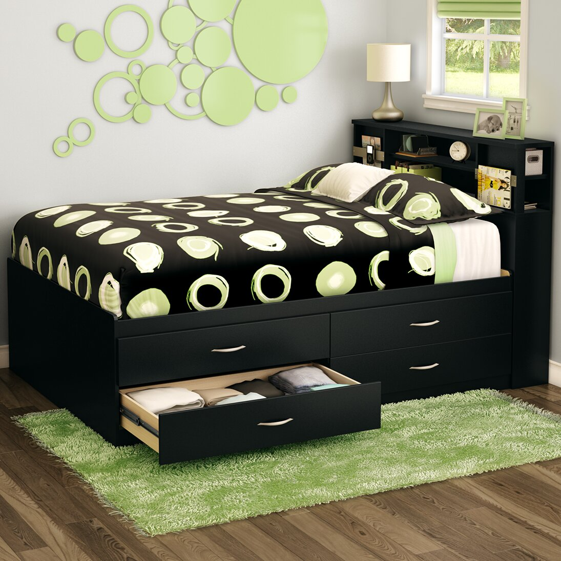 South Shore Step One Full Storage Platform Bed Amp Reviews